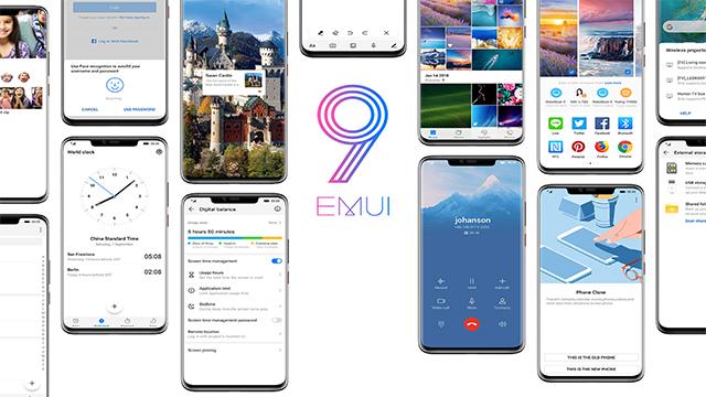 Honor EMUI 9.0