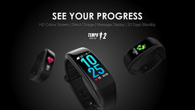Tempo 2 fitband