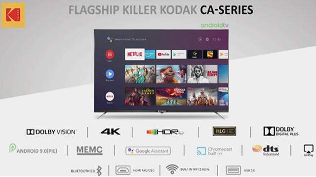 Kodak-CA Android-TV