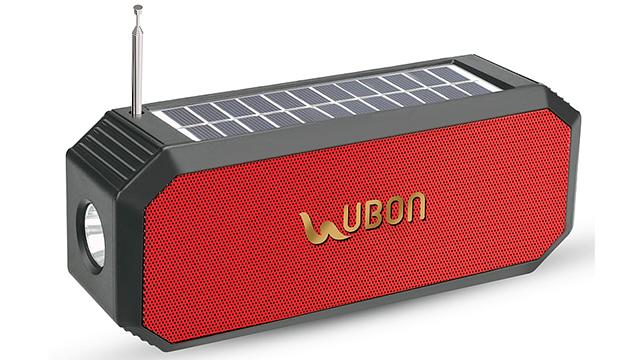 Ubon-solar-bluetooth-speaker