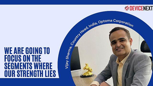 Optoma-Corporation-Vijay-Sharma